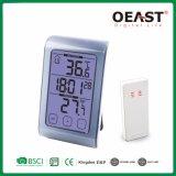 Digital domésticos duráveis Termómetro Interior ou Exterior com o tempo Ot5560TF1