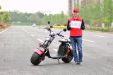 Cee aprobó 1500W 60V Electric Scooter Harley Citycoco en venta