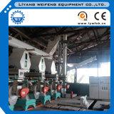 Línea de producción de pellets de madera de caucho