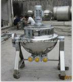 Macchina di cottura rivestita del POT del riscaldamento di vapore di trasformazione dei prodotti alimentari dell'acciaio inossidabile