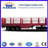 China-Fabrik-Preis-Tri Wellen-Zaun-/Stange-Ladung-LKW-halb Schlussteile