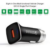 Mayorista de fábrica rápida carga rápida QC 3.0 USB Cargador de coche para teléfono móvil