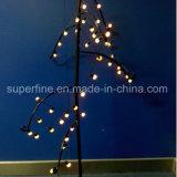 Decoración romántica parte Pinecone LED impermeable de la luz de la cadena de hadas