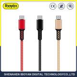 Venta caliente Micro USB cable de datos V8 para Android los teléfonos móviles el cable USB