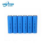 precio de fábrica de 18.650 3.7V 2600mAh Batería de Ión Litio celda