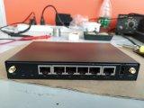 Router industriale Hdrm200 di gigabit delle sei porte di lan
