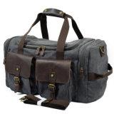 Redswan Weekender-Kleidersack großes ledernes Änderung- am Objektprogrammtaschen-Segeltuch-der reisenden Gepäck-Männer (RS-9133)