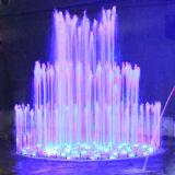 水ライト庭の噴水の下の直径3m音楽