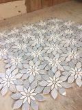 Hermosas flores / El arte del mosaico de mármol de colores