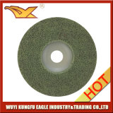 Non-Woven磨く車輪(100X12mmの120#緑色))