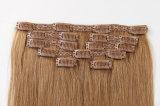 """Горячее выдвижение волос Remy Зажим-в волосы цвет рояля выдвижений Silky20 """""""
