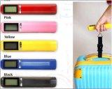 Bagage coloré en gros de Digitals pesant l'échelle de cadre de colis de bagages