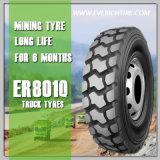 pneumático resistente do caminhão do pneumático da mineração do pneu da lama 11.00r20 com termo de garantia