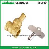 Valve de qualité en laiton et en bronze de qualité européenne (AV4065)