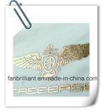Étiquette de transfert de chaleur Silver Foil pour Spandex Textile