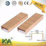(3522) Kupferne Karton-Abschluss-Heftklammern für das Verpacken