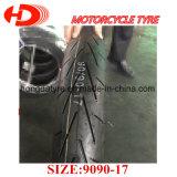 In het groot Grootte 90/9017 van de Band van de Motorfiets van het Merk van de Fabriek Shandong Hoogste/Zonder binnenband van de Band van de Band van de Motorfiets