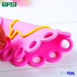 Steunbalk-Bewijs FDA/LFGB de Mat Placemat Potholder van het Silicone van de Rang van het Voedsel