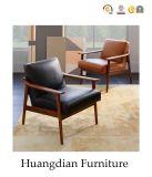 Silla de madera del sofá del marco del asiento del restaurante de los muebles del abastecimiento (HD697)