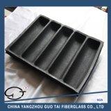Форма хлеба силикона каналов черноты 5 высокого качества