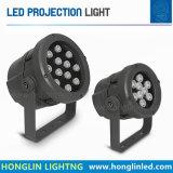 Scheinwerfer-Flutlicht des Landschaftsgehäuse-9X2w 18W LED