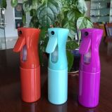 200ml 300ml 다채로운 지속적인 살포 정밀한 물 안개 플라스틱 애완 동물 병