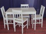 Fördernder preiswerter einfacher fester Kiefernholz-Speisetisch-Stuhl