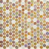 Mosaico de cristal redondo para el suelo