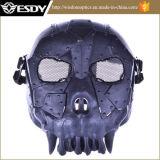 Paintball Airsoft preta Bb Gun Jogo Facial Máscara de protecção