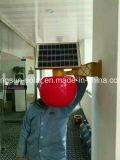 Luz impermeável solar ao ar livre do diodo emissor de luz da lâmpada de parede do sensor