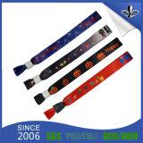 Wristband colorido de la promoción de la buena materia textil hecha a mano del precio