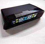 TPMSカラースクリーンの太陽エネルギーのタイヤ空気圧のモニタシステムUSB料金TPMS