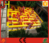 Laberinto inflable de la alta calidad para el juego al aire libre