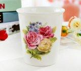 Tasse à café en céramique mince à chaud de 12 oz avec impression personnalisée