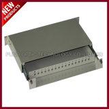 12의 포트 광섬유 SC APC 접합기 패치 패널 종료 상자