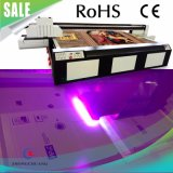 나무 또는 가죽 또는 직물 인쇄를 위한 자동 통제 UV 잉크 평상형 트레일러 인쇄 기계