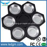 La conception spéciale six côtés Fixture Logement 240W UFO LED de type modulaire haute lumière de la Baie 300W