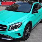 1,52*20m populaires de la vente d'auto-adhésif PVC étanche Bulle d'air libre de voiture Voiture métallique de la foudre en vinyle autocollant Wrap