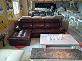 sofà di cuoio 3+Chaise