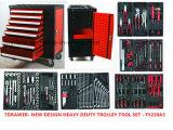 красный новый комплект инструмента вагонетки изображения 228PCS с держателем (FY228A3)