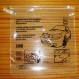 Venda Por Atacado Low Price Clear PVC Plastic Ziplock Bag com Custom-Logo