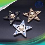 Jouets Cinq-Aigus créateurs de fileur de doigt de main de personne remuante d'étoile avec le certificat de la CE