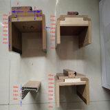 Porta de madeira de PVC barato com muitas cores