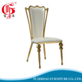 Antique Hot Sale Cheapest High Back Golden Dining Chair