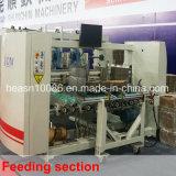 機械(SCM-1600PC C4)を折り、つける4つのコーナーの波形ボックス