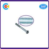 Parafuso da cabeça da bandeja do hexágono de Rod da extensão do carbono Steel/4.8/8.8/10.9/parafusos prisioneiros galvanizados M6/parafuso