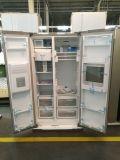 물 분배기와 Icemaker를 가진 2절판 문 냉장고