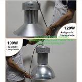 Lampada industriale di progetto degli indicatori luminosi 120W della baia del ODM o dell'OEM LED di buona qualità alta (CS-GKD-120W)