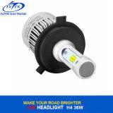 PANNOCCHIA del faro 36W 4000lm dell'automobile LED/faro pronti per l'uso H4 H11 H7 H3 H1 6500K di Csp S2 LED