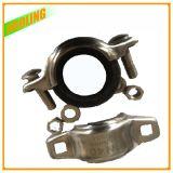 Aço inoxidável Ss304 e 316 acoplamentos Grooved de alta pressão do encaixe de tubulação